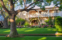 Beverly Hills house. A shot of pretty Beverly Hills house stock images