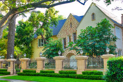 Beverly Hills house. A shot of pretty Beverly Hills house stock photography