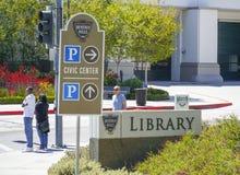 Beverly Hills Library - LOS ANGELES - CALIFORNIË - APRIL 20, 2017 Royalty-vrije Stock Fotografie