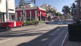 Beverly Hills, longueur de Timelapse banque de vidéos