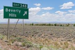 Beverly Hills Nevada Zdjęcie Stock