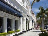 Beverly Hills Rodeo Drive Exclusive Shops Stock Images