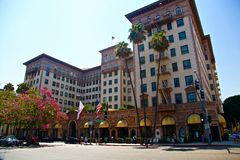 Beverly hills on rodeo drive Royalty Free Stock Photo