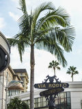 Beverly Hills Rodeo Drive Sign Royalty Free Stock Images