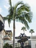 Beverly Hills rodeo przejażdżki znak Obrazy Royalty Free