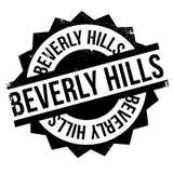 Beverly Hills rubber stämpel vektor illustrationer