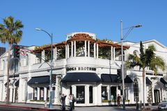 Beverly Hills shopping Stock Photography