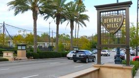 Beverly Hills Sign en LA metrajes