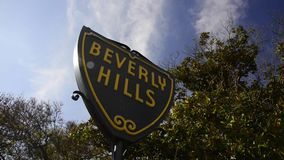Beverly Hills stock footage