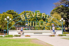 Beverly HIlls Sign, Los Angeles, California Royalty Free Stock Photos
