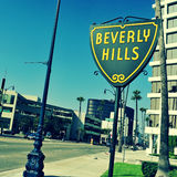 Beverly Hills, Vereinigte Staaten lizenzfreie stockfotografie