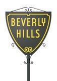 Beverly Hills-Zeichen Stockfotografie