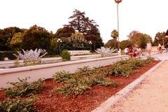 Beverly- Hillszeichen lizenzfreies stockbild