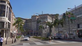 Beverly Wilshire Hotel στο Drive ροντέο στο Μπέβερλι Χιλς - ΚΑΛΙΦΟΡΝΙΑ, ΗΠΑ - 18 ΜΑΡΤΊΟΥ 2019 φιλμ μικρού μήκους