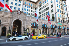 Beverly Wilshire Hotel Stockfotos