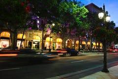 Beverly Wilshire Hotel royaltyfria foton