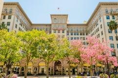 Beverly Wilshire Hotel en Beverly Hills, California fotografía de archivo