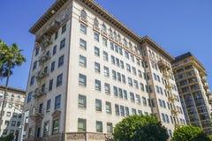 Beverly Wilshire Hotel famosa en Beverly Hills - LOS ÁNGELES - CALIFORNIA - 20 de abril de 2017 Imagenes de archivo