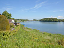 Bevertalsperre Reservoir,Bergisches Land,Germany Royalty Free Stock Photos