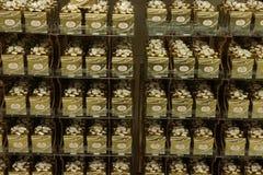 Beverwijk, Нидерланд, 26-ое октября 2018: Ferrero Rocher стоковая фотография