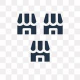 Bevilja franchise vektorsymbolen som isoleras på genomskinlig bakgrund, Franch royaltyfri illustrationer