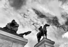beviljar svarta dollar femtio för sedeln isolerad bildstående s ulysses oss white Grant Memorial i Washington DC arkivbild