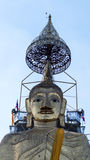 Bevindende Boedha van Bangkok Royalty-vrije Stock Afbeeldingen