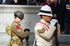 Bevindende militairen Royalty-vrije Stock Afbeeldingen