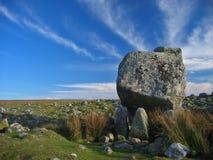 Bevindende steen Stock Afbeeldingen