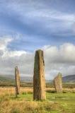 Bevindende stenen Stock Foto's