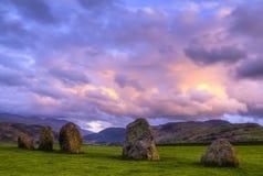 Bevindende stenen. Royalty-vrije Stock Foto