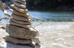Bevindende Stenen stock afbeelding