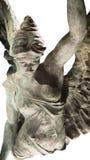Bevingad segerskulptur Arkivfoto