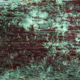 Bevlekt geoxydeerd koper surface_square royalty-vrije stock afbeeldingen