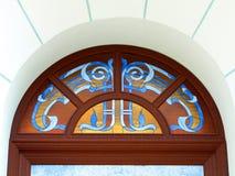 Bevlekt venster Royalty-vrije Stock Foto