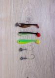Bevlekt wobbler voor visserij royalty-vrije stock afbeelding