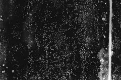 Bevlekt zwart-wit van de glastextuur gekrast met bevlekte streep stock afbeelding
