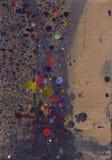 Bevlekte grunge textuur Stock Afbeeldingen