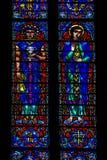 Bevlekte Joseph en Mary royalty-vrije stock foto