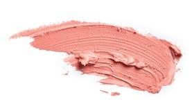 Bevlekte lippenstift stock fotografie