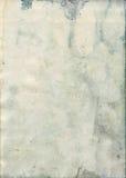 Bevlekte oude waterverfdocument textuur Stock Foto's