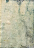 Bevlekte oude waterverfdocument textuur Royalty-vrije Stock Foto's