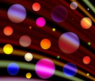 Bevlekte regenboog Stock Fotografie