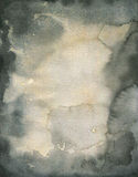 Bevlekte waterverftextuur Stock Afbeelding