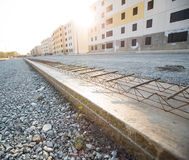 Bevor dem Concreting Stockbild