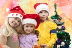 Bevor wir Weihnachten treffen Stockfotografie