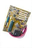 Bevorder uw computer! Stock Foto's