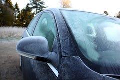 Bevroren auto Royalty-vrije Stock Foto