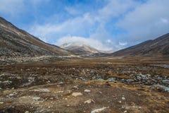 Bevroren berg Stock Afbeeldingen