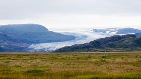 Bevroren berg Stock Afbeelding